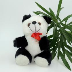 Satyamani Bachpan Naughty Black & White Panda Cartoon Character Friend Soft Toy Love Fun Play Showpiece