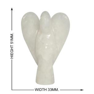 Satyamani Natural White Moonstone Angel 2