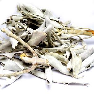 Satyamani Natural  Indian White Sage Smudge Leaves