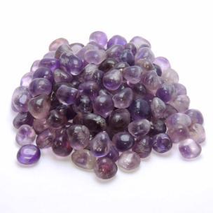 Satyamani Natural Amethyst Tumble stone