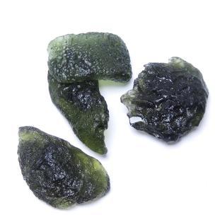 Satyamani Natural Moldavite Rough Specimen A Grade