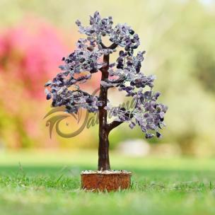 Satyamani Natural Amethyst Tree For Brain (500 Dana)
