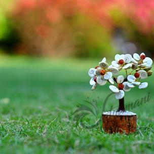 Satyamani Natural Energized Gomti Chakra 10 Flower Tree