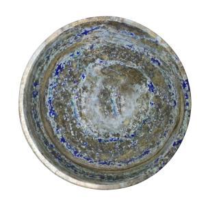 Satyamani Lapis-Lazuli Healing Crystal Bowl for Speaking|Decoration|Throat Chakra|Pain Relief|70 MM