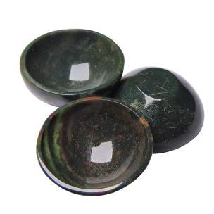Satyamani Natural Bloodstone Healing Bowl (Small)