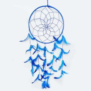 Light Blue Color Dream Catcher for Elements Energy Balancing in Home Office Shop