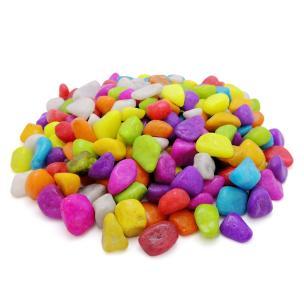 Agro Saver multi-colour Tumbes (Pebbles) Stone for Decoration, Garden, Plants, Pots Home D