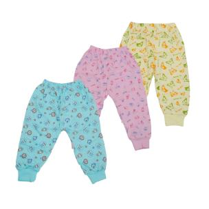 Life Begin; A Unit Of Satyamani Baby Pampered Pyjama Printed Size 0 (Pack of 3)( one to two months)