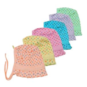 Life Begin Baby Just Dots Cap Medium(3 to 6 months)(Pack of 6)Mitten(Pack of 6)