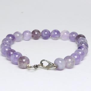 Satyamani Amethyst beads bracelet with hookh