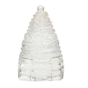 Satyamani Big Shree Yantra In Clear Quartz