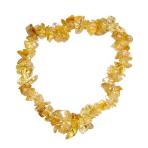 Satyamani Citrine Chip Bracelet (Pack of 1Pc)