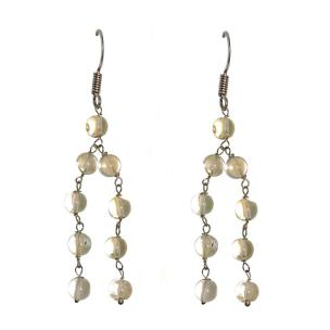Satyamani Citrine Semi-Precious Earrings
