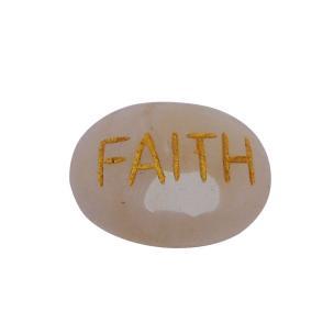 Satyamani Confidence Enhancer Energized Rose Quartz Stone Faith Cabochon