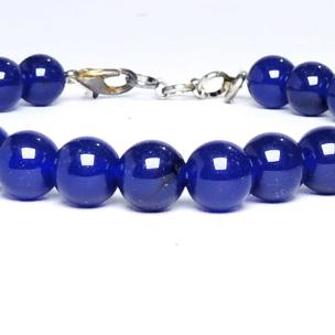 Satyamani  Energised Blue onyx beads bracelet with Hookh