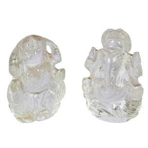 Satyamani Energized Diwali Combo Natural Crystal Divinity for Wealth & Prosperity SMAS4528N