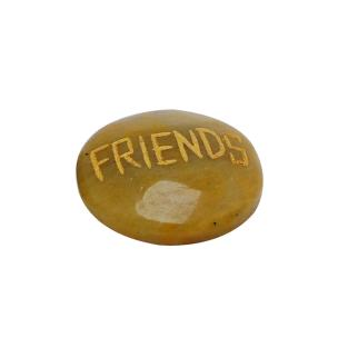 Satyamani Friendship Energized Yellow Quartz Friends Cabochon