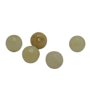 Satyamani Heat Processed Faceted Calcite Beads 8 mm