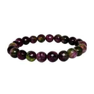 Satyamani Heat Processed Multi Tourmaline 8 mm Bead Bracelet Designer 1