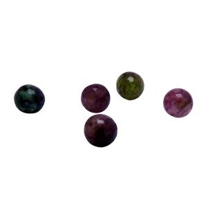Satyamani Heat Processed Multi Tourmaline Beads 8 mm