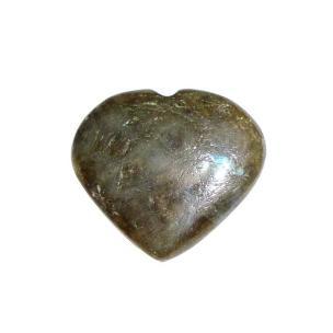 Satyamani Labradorite Heart Chabochon