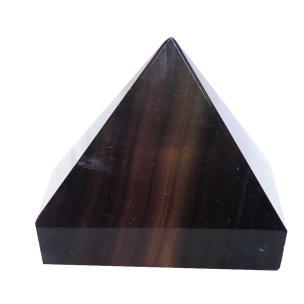 Satyamani Natual Energised Fluorite Pyramid 30 mm