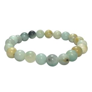 Satyamani Natural Amazonite Beads Bracelet