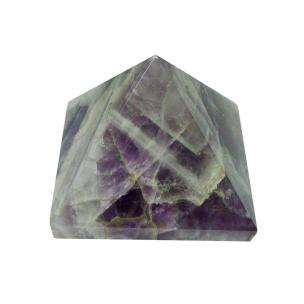 Satyamani Natural Amethyst Pyramid 50 mm.