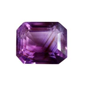 Satyamani Natural Amethyst Ring Stone for Aquarius