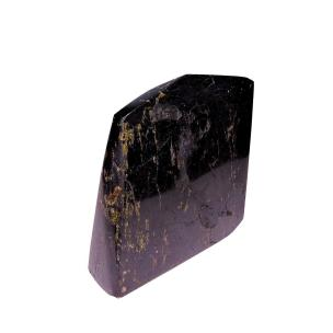 Satyamani Natural Black Tourmaline Original Rough Point for Home