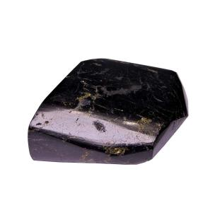 Satyamani Natural Black Tourmaline Original Rough Point for Negative Removal