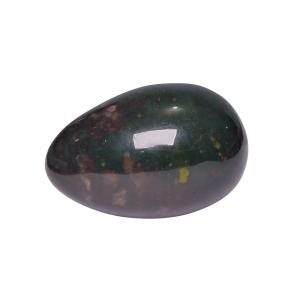 Satyamani Natural Blood Stone Egg for making positive in atmosphere