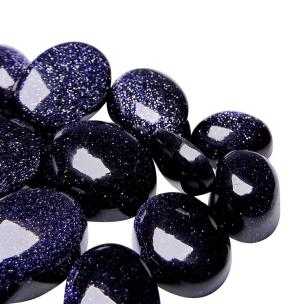 Satyamani Natural Blue Goldstone Lucky Stone