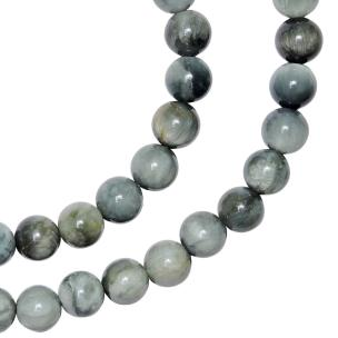 Satyamani Natural Cat's Eye Bead 7mm for Balancing Energies