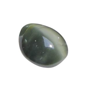 Satyamani Natural Cat's Eye Black Loose Gemstone(Pack of 1 Pc.)