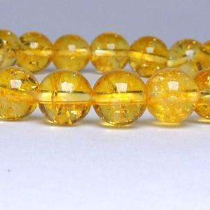 Satyamani Natural Citrine Bead Bracelet