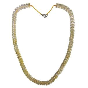 Satyamani Natural Citrine Necklace for Money and Prosperity