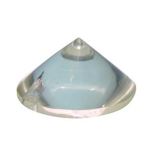 Satyamani Natural Clear Quartz Cone Pyramid 30 mm.