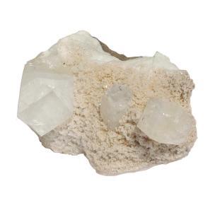Satyamani Natural Energised Apophyllite Aura Cleaning Cluster