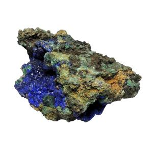 Satyamani Natural Energised Azurite Rough Specimen Stone 345 grams