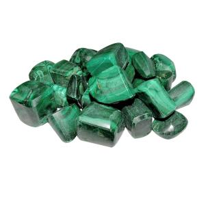 Satyamani Natural Energized Malachite Tumble Stone