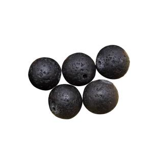 Satyamani Natural Energized Lava Beads 12 mm