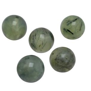Satyamani Natural Energized Prehnite Beads 12 mm