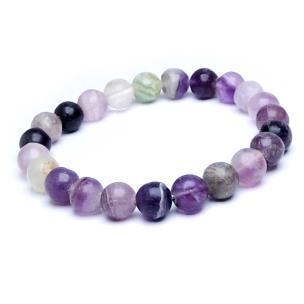 Satyamani Fluorite Faceted Bead Bracelet For Boost Communication and Improve Spiritual Balance