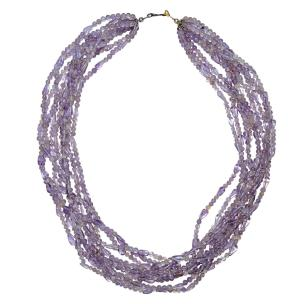 Satyamani Natural Kunzite Necklace for ladies having a hard time adjusting to and functioning in life