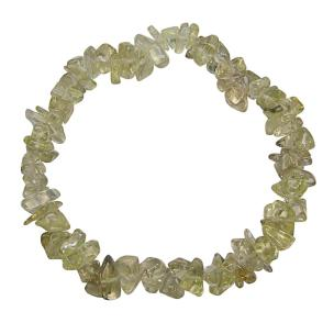 Satyamani Natural Lemon Quartz Gemstone Chips Bracelet For Reduces Nicotine Craving & Reiki Healing