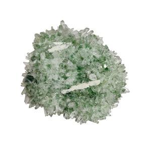 Satyamani Natural Rare Green Ghost Phantom Quartz  I (Pack of 1 Pc.)