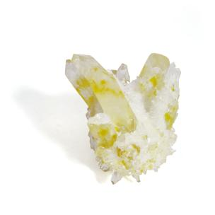 Satyamani Natural Rare Yellow Ghost Phantom Quartz I (Pack of 1 Pc.)