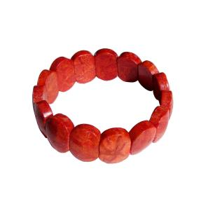 Satyamani Natural Energized Red Coral Bracelet For Overcome Obstacles & Better Relationships