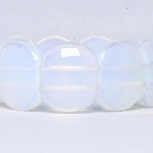 Satyamani Opalite Broad Cabochon Bracelet (Pack of 1Pc)